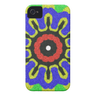 Abstract modern pattern iPhone 4 Case-Mate case