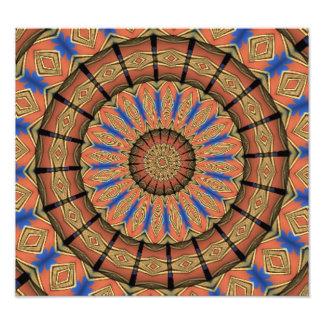 Abstract modern pattern photo art