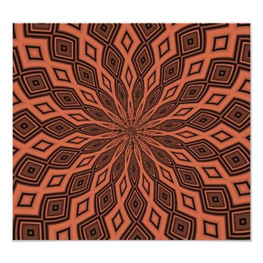 Abstract modern pattern art photo