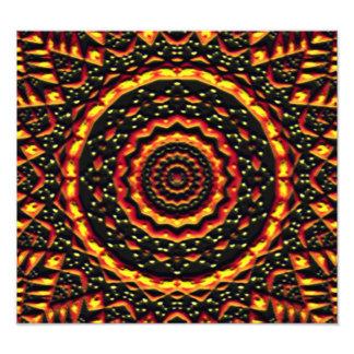 abstract modern pattern photo print