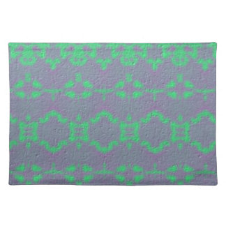 Abstract modern pattern placemat