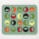 Abstract Modern Spheres Mousepad