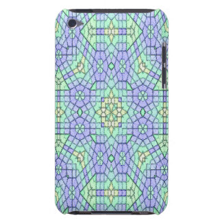 Abstract modern stylish pattern barely there iPod case