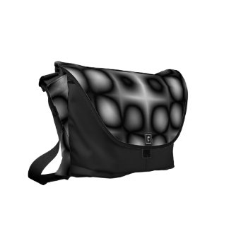 Abstract Modules Courier Bag