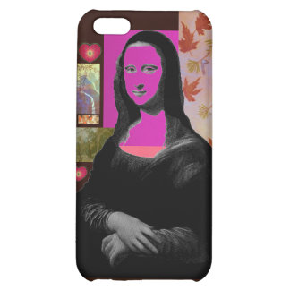 Abstract Mona Lisa iPhone 5C Cases