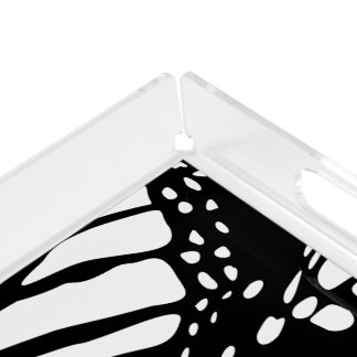 Abstract Monarch Butterfly Design