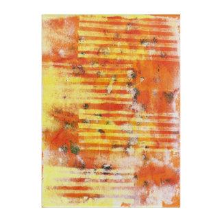 Abstract Monoprint 17025YOS Print Acrylic Wall Art