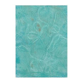 Abstract Monoprint 1702908 Print Acrylic Wall Art