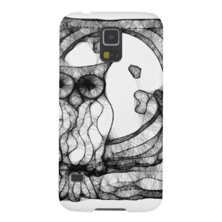 Abstract moody owl galaxy s5 case