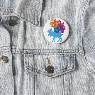Abstract Moose Button