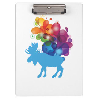 Abstract Moose Clipboard