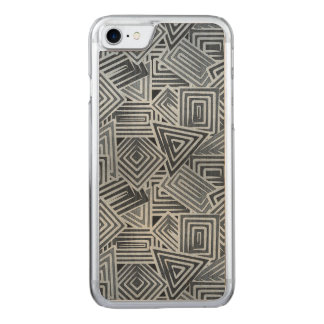 Abstract Mosaic Carved iPhone 8/7 Case