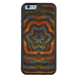 Abstract Mosaic Pattern #10 Carved® Cherry iPhone 6 Bumper Case