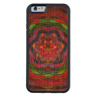 Abstract Mosaic Pattern #11 Cherry iPhone 6 Bumper Case