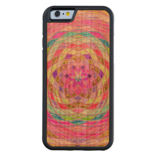 Abstract Mosaic Pattern #12 Carved® Cherry iPhone 6 Bumper
