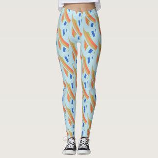 Abstract Mosaic Pattern #2 Leggings