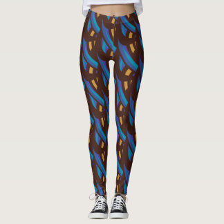 Abstract Mosaic Pattern #3 Leggings