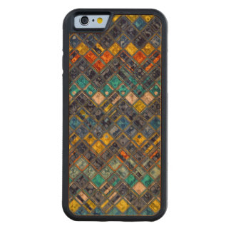 Abstract Mosaic Pattern #5 Carved® Cherry iPhone 6 Bumper