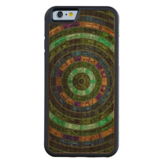 Abstract Mosaic Pattern #6 Carved® Cherry iPhone 6 Bumper Case