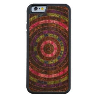 Abstract Mosaic Pattern #7 Carved® Cherry iPhone 6 Bumper Case