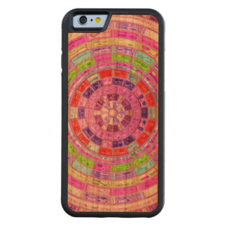Abstract Mosaic Pattern #8 Cherry iPhone 6 Bumper Case