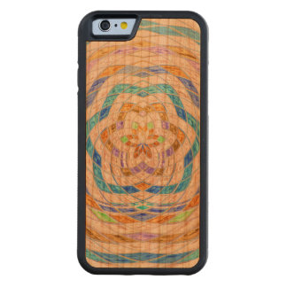 Abstract Mosaic Pattern #9 Carved® Cherry iPhone 6 Bumper Case