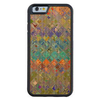 Abstract Mosaic Pattern Carved® Cherry iPhone 6 Bumper