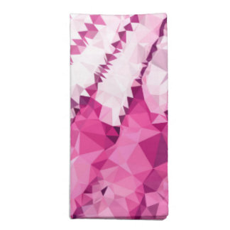 Abstract mosaic waves napkin