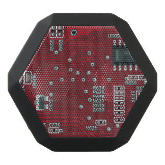 Abstract motherboard black boombot rex bluetooth speaker
