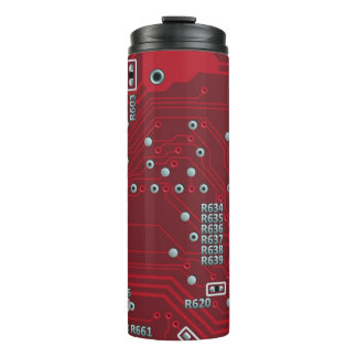Abstract motherboard thermal tumbler