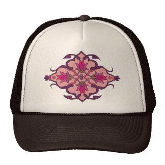 Abstract Motif : Textile Print Mesh Hats