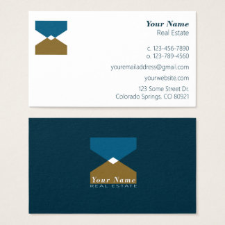 Abstract Mountain Business Card