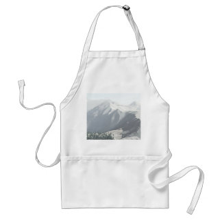 Abstract Mountains Standard Apron