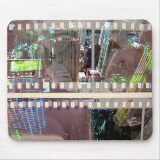 Abstract Movie 2 Mouse Mat