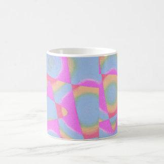 Abstract mug - full wrap