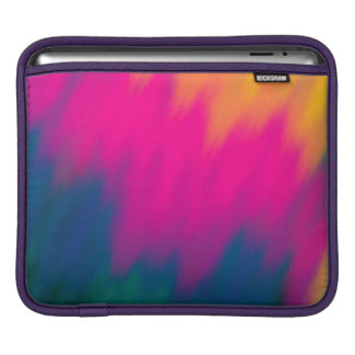 Abstract Multi Color Background iPad Sleeve