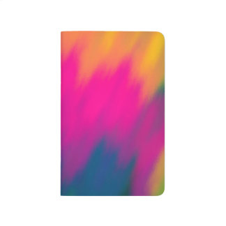 Abstract Multi Color Background Journal