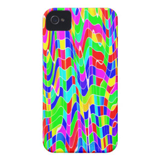 Abstract multi colour iPhone 4 cover