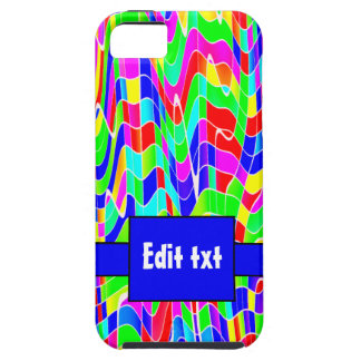 Abstract multi colour iPhone 5 covers