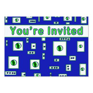 """Abstract Multi-Purpose Invitation - 5"""" X 7"""" Invitation Card"""