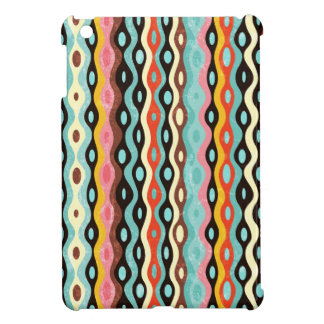 Abstract multicolor pattern iPad mini cases