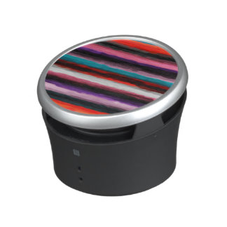 Abstract Multicolor Watercolor Pattern Bluetooth Speaker