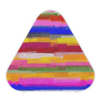 Abstract Multicolor Watercolor Stripes #3