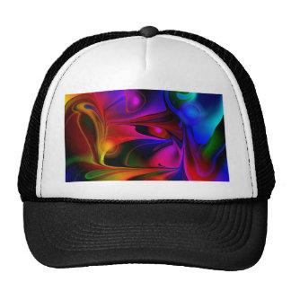 Abstract multicolored No 2 by Tutti Cap