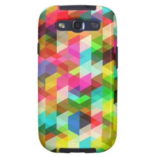 Abstract Multicolored Pattern Samsung Galaxy SIII Cover