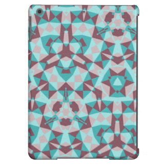 Abstract multicolored pattern iPad air cases