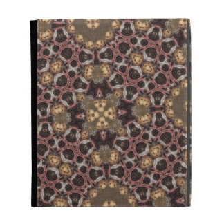 Abstract multicolored Pattern iPad Case