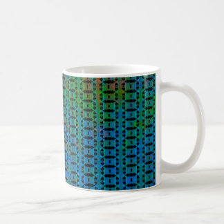 Abstract Multicolored Pattern Coffee Mug