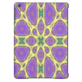 Abstract multicolored pattern cover for iPad air