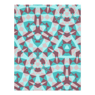 Abstract multicolored pattern flyers